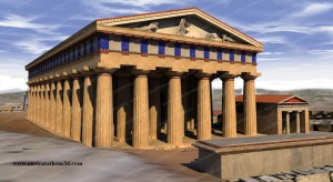 Ancient Athens 3d