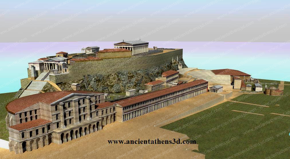 Header Image - Ancient Athens 3D