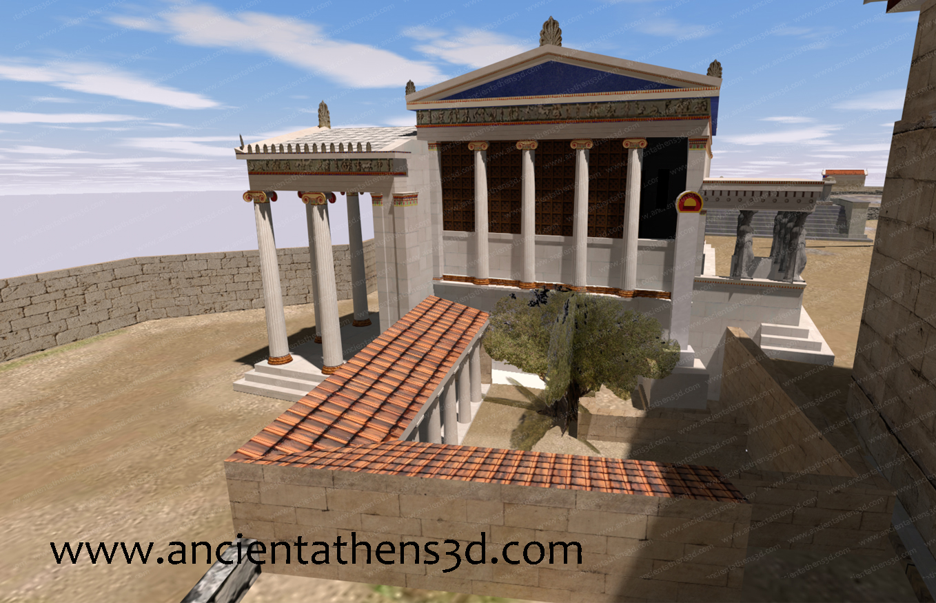 Classical Acropolis of Athens - Ancient Athens 3d